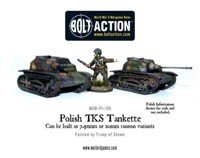 Bolt Action - Polish TKS Tankette