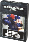 Warhammer 40000: Tactical Objective Cards (ENG)