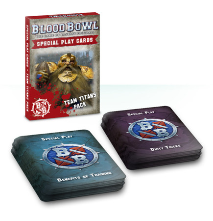 Blood Bowl: Team Titans Cards Pack