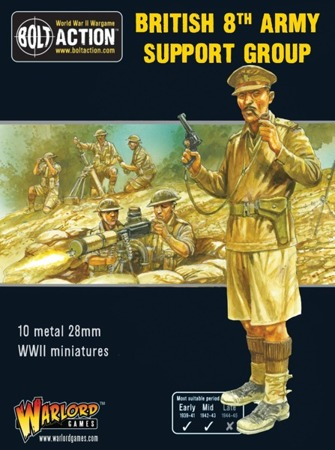 Bolt Action - 8th Army Support Group