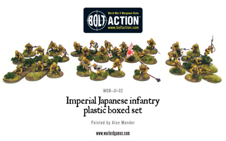 Bolt Action -  Imperial Japanese Infantry - 30 figure box set