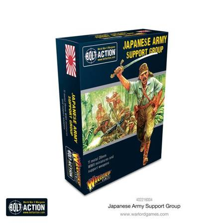 Bolt Action - Japanese Army support group