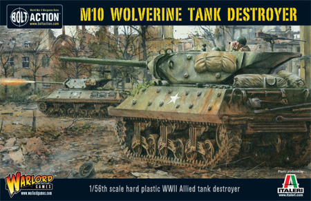 Bolt Action - M10 Tank Destroyer / Wolverine (Plastic)