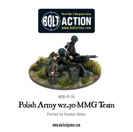 Bolt Action - Polish Army wz.30 MMG team