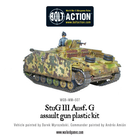 Bolt Action -  StuG III Ausf G or StuH 42