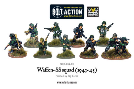 Bolt Action - Waffen-SS squad (1943-45)