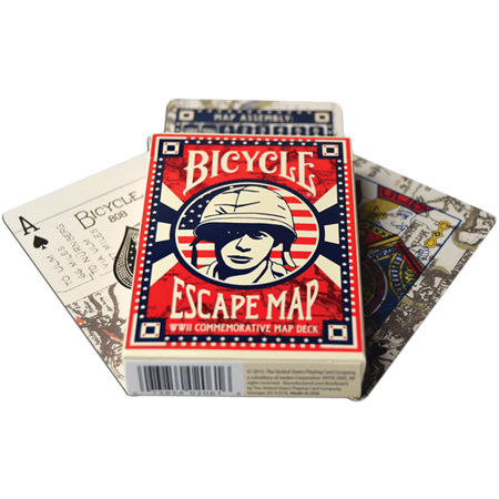 Karty Bicycle - Escape Map