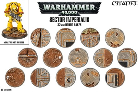 Sector Imperialis - 32mm Round Bases