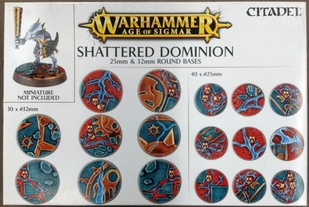 Shattered Dominion: 25 & 32mm Round Bases